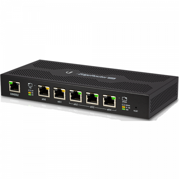 UBIQUITI EdgeRouter POE, 5 port