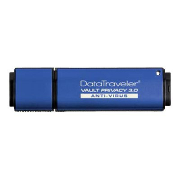 Kingston DataTraveler Vault Privacy 3.0 Anti-Virus - USB flash drive - 64 GB